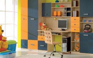 Мебель в детскую на заказ: ЭКОНОМ +