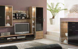 Мебель в гостинную на заказ: СТАНДАРТ