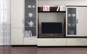 Мебель в гостинную на заказ: ЭКОНОМ +